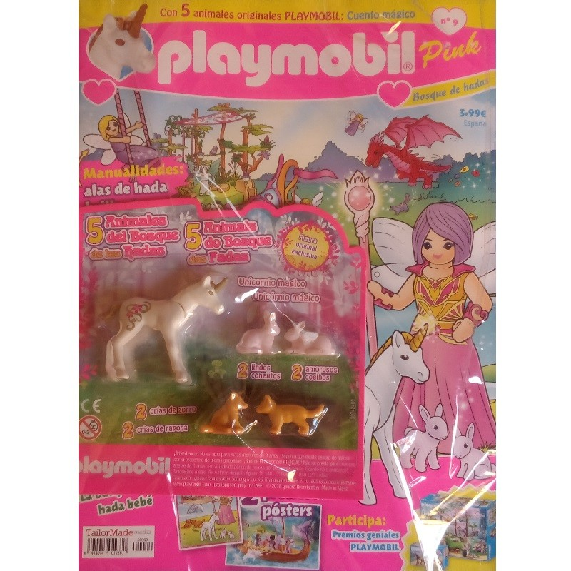 playmobil n 9 chicas - Revista Playmobil 9 Pink chicas