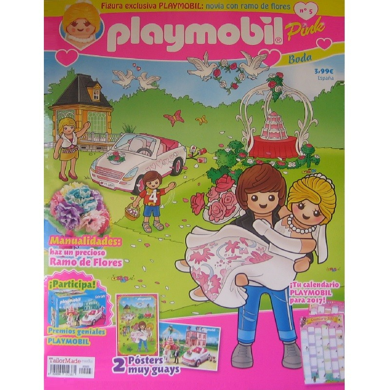 playmobil n 5 chicas - Revista Playmobil 5 semestral chicas
