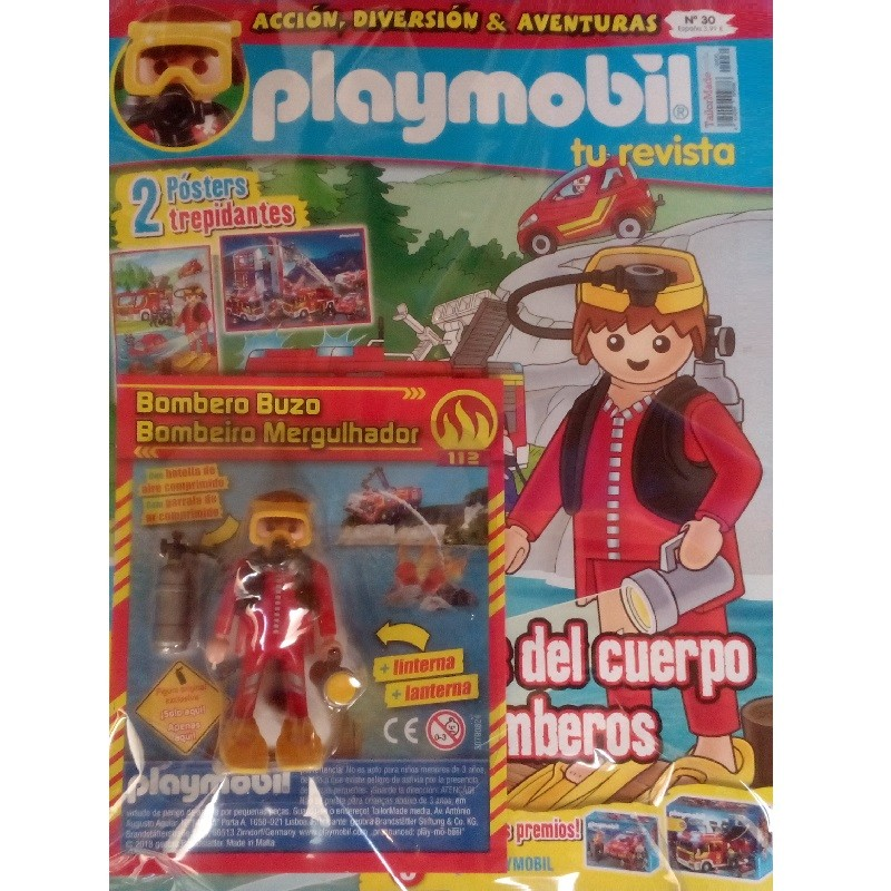 playmobil n 30 chico - Revista Playmobil 30 bimensual chicos