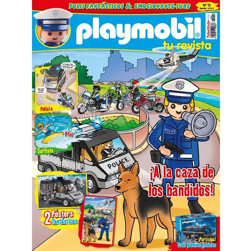 playmobil n 13 chico - Revista Playmobil 13 bimensual chicos