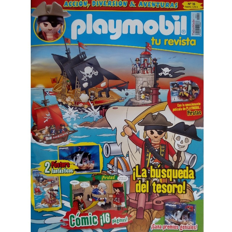 playmobil n 15 chico - Revista Playmobil 15 bimensual chicos
