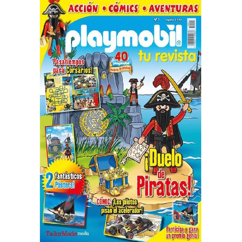 playmobil numero 1 - revista Playmobil 1 bimensual chicos