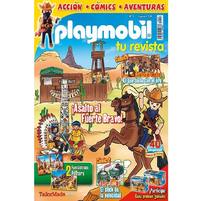 playmobil Numero 3 - revista Playmobil 3 bimensual chicos