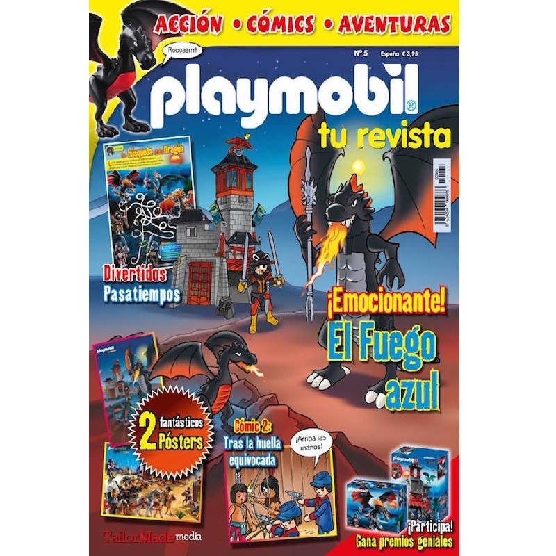 playmobil Numero 5 - Revista Playmobil 5 bimensual chicos