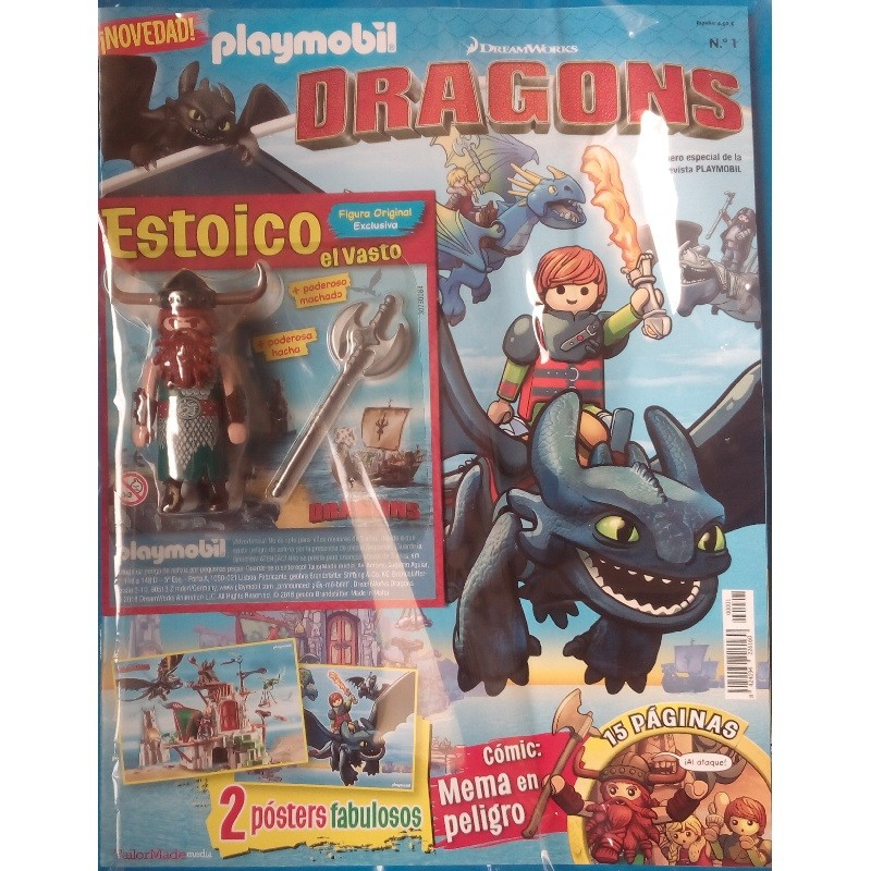 playmobil 1 dragons - Revista Playmobil Dragons n 1