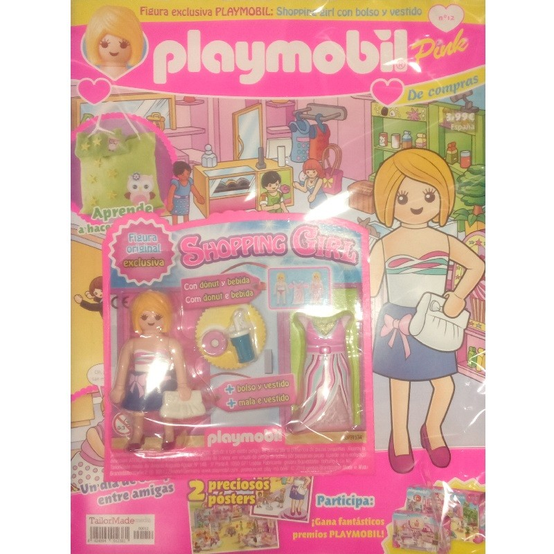 playmobil n 12 chica - Revista Playmobil 12 Pink chicas