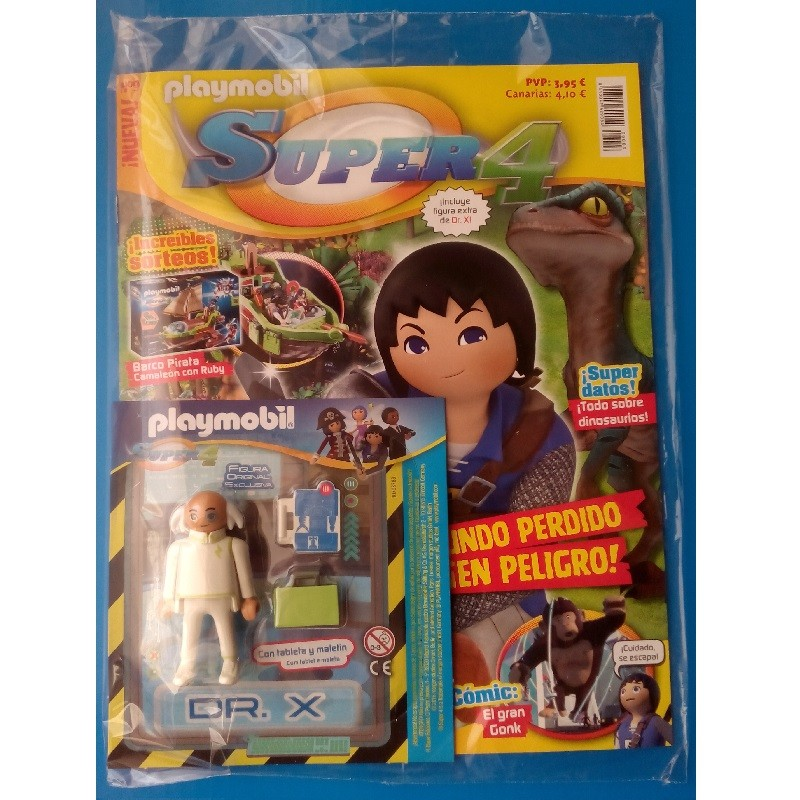 playmobil n 9 super4 - Revista Playmobil Super 4 numero 9