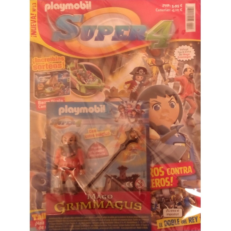 playmobil n13 super4 - Revista Playmobil Super 4 numero 13