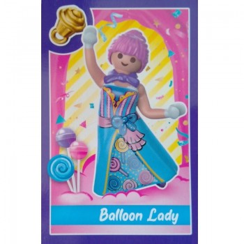 Playmobil 70389 12 Candy World Caja Sorpresa. Serie 1 Balloon Lady