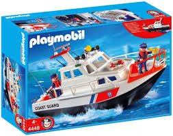Playmobil 4448 Bote Guardacostas