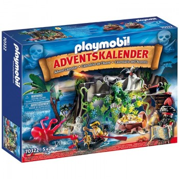 Playmobil 70322 Calendario de Adviento Piratas