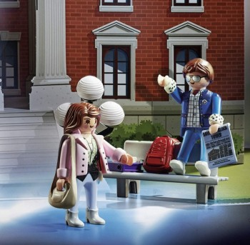 playmobil 70574 - Calendario de Adviento Back to the Future
