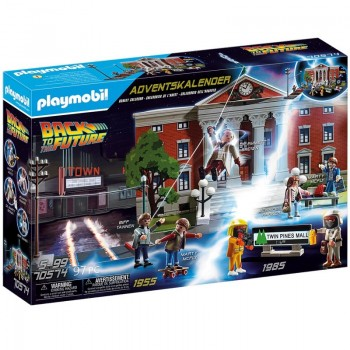 Playmobil 70574 Calendario de Adviento Back to the Future