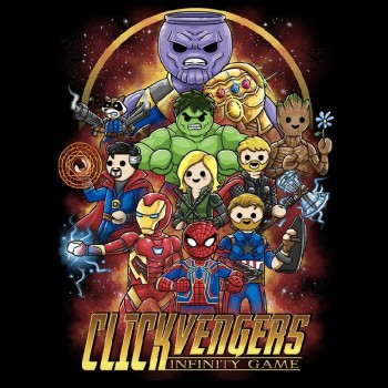 ver 2515 - Clickvengers Infinity Game Talla XL chico