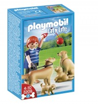 Playmobil 5209 Golden retrievers con cachorros