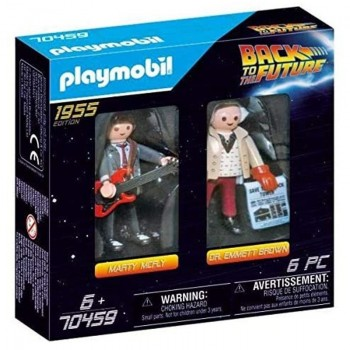 Playmobil 70459 Marty Mcfly y Dr. Emmett Brown