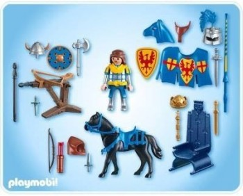 Playmobil 4339 multiset caballero medieval for Playmobil caballeros