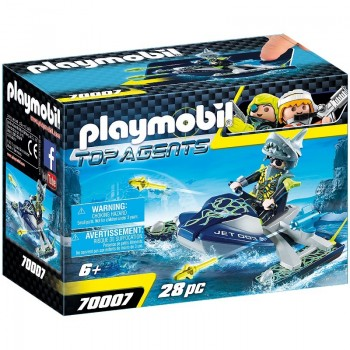 Playmobil 70007 Nave Cohete TEAM S.H.A.R.K.