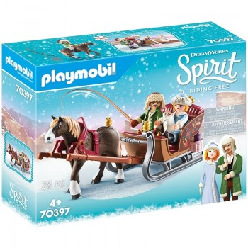Playmobil 70397 Paseo En Trineo. Riding Free