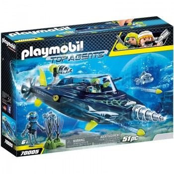Playmobil 70005 Perforadora TEAM S.H.A.R.K.