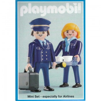 Playmobil 3104 Piloto y Azafata de Air Berlin