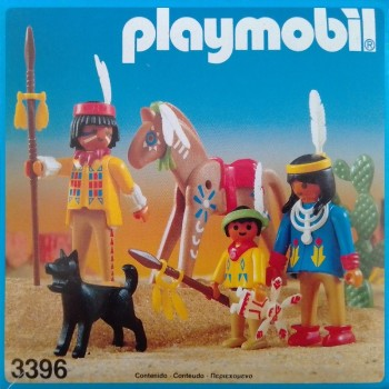 Playmobil 3396 Familia india
