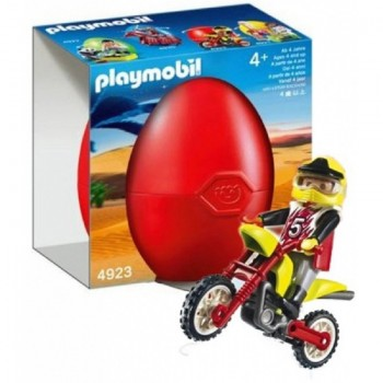 Playmobil 4923 Motorista de Motocross