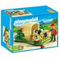 Playmobil 5124 Ternero con refugio