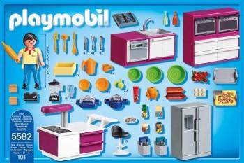 Playmobil 5582 cocina de dise o for Casa moderna playmobil 5574