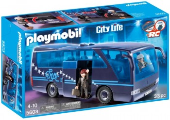 Playmobil 5603 Autobus Popstars. Tour Bus