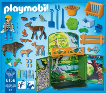playmobil 6158 - Cofre Animales del Bosque
