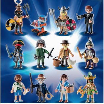Playmobil 1MOVIE Sobres Serie 1 Completa The Movie (incluye album)
