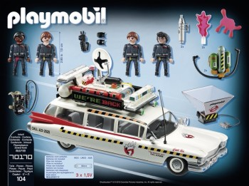 playmobil 70170 - Ghostbusters Ecto-1A