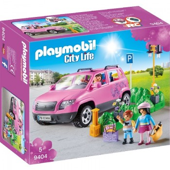 Playmobil 9404 Coche Familiar con Parking