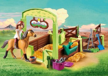 playmobil 9478 - Establo Lucky y Spirit