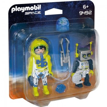 Playmobil 9492 Duo Pack Astronauta y Robot