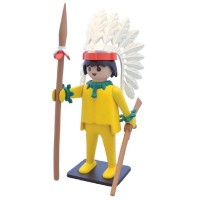 Playmobil PPJIA Jefe Indio Amarillo 25 cm.
