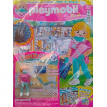 Playmobil n 25 chica Revista Playmobil 25 Pink