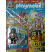 Playmobil n 23 chico Revista Playmobil 23 bimensual chicos
