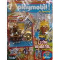 Playmobil n 35 chico Revista Playmobil 35 bimensual chicos