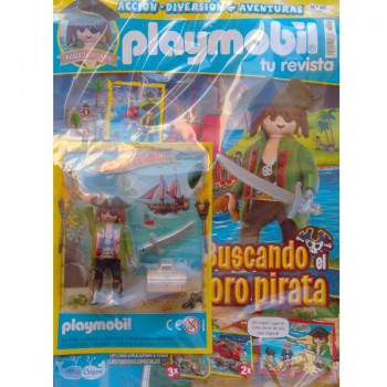 Playmobil n 45 chico Revista Playmobil 45 bimensual chicos