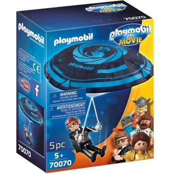 Playmobil 70070 Rex Dasher con Paracaídas