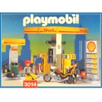 Playmobil 3014 Estación de Servicio Shell