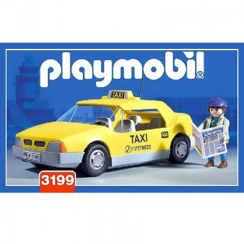 Playmobil 3199 Taxi (yellow cab)