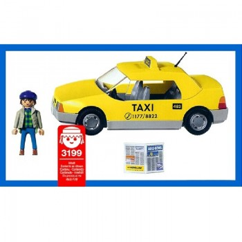 playmobil 3199 - Taxi (yellow cab)