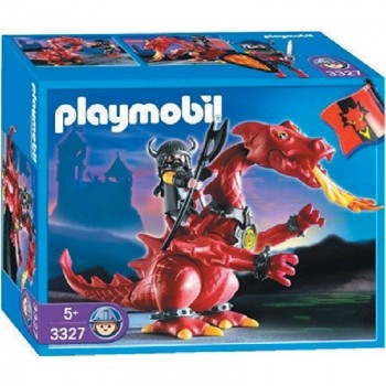 Playmobil 3327 Dragon Rojo