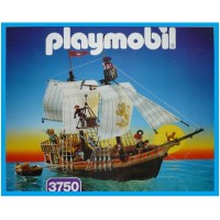 Playmobil 3750 Barco Pirata (version 3)