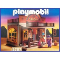 Playmobil 3787 Salón Golden Nugget