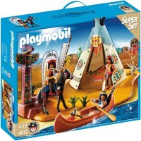 Playmobil 4012 Superset Campamento Indio
