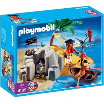 Playmobil 4139 Compact Set Isla Pirata